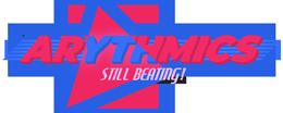Arythmics – an 80's New Wave band Logo